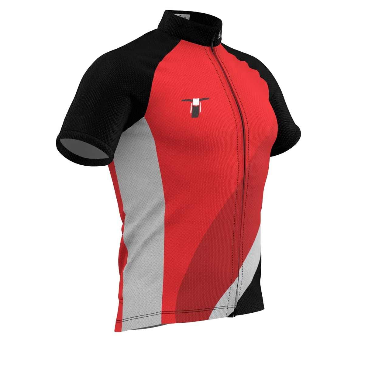 Camisa Bike Tribos e Trilhas Dry Tech Red