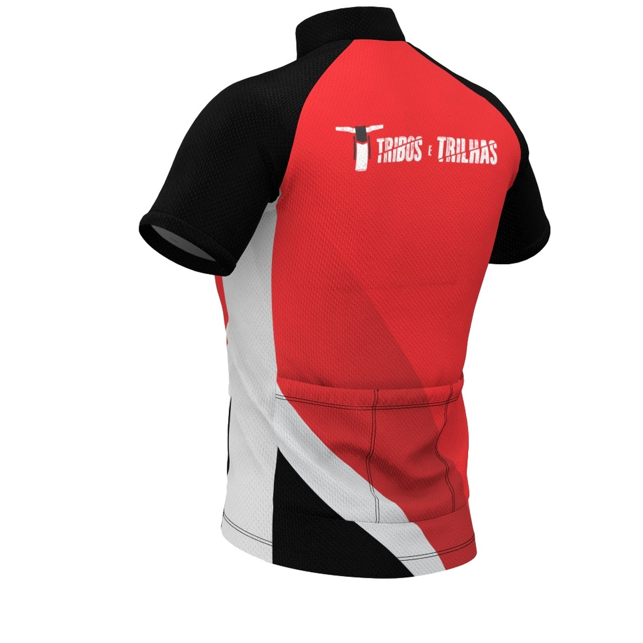 Camisa Bike Tribos e Trilhas Dry Tech Red