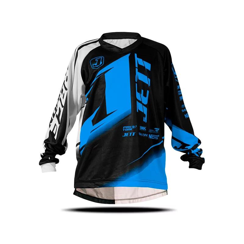 Camisa Infantil Motocross Jett Factory Edition Neon
