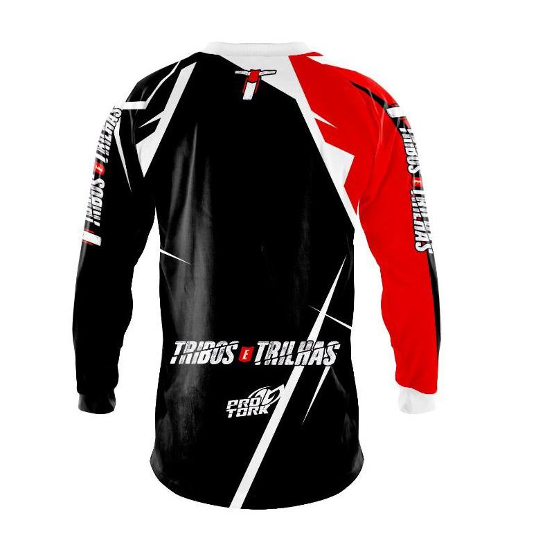 Camisa Infantil Motocross Tribos e Trilhas Ride