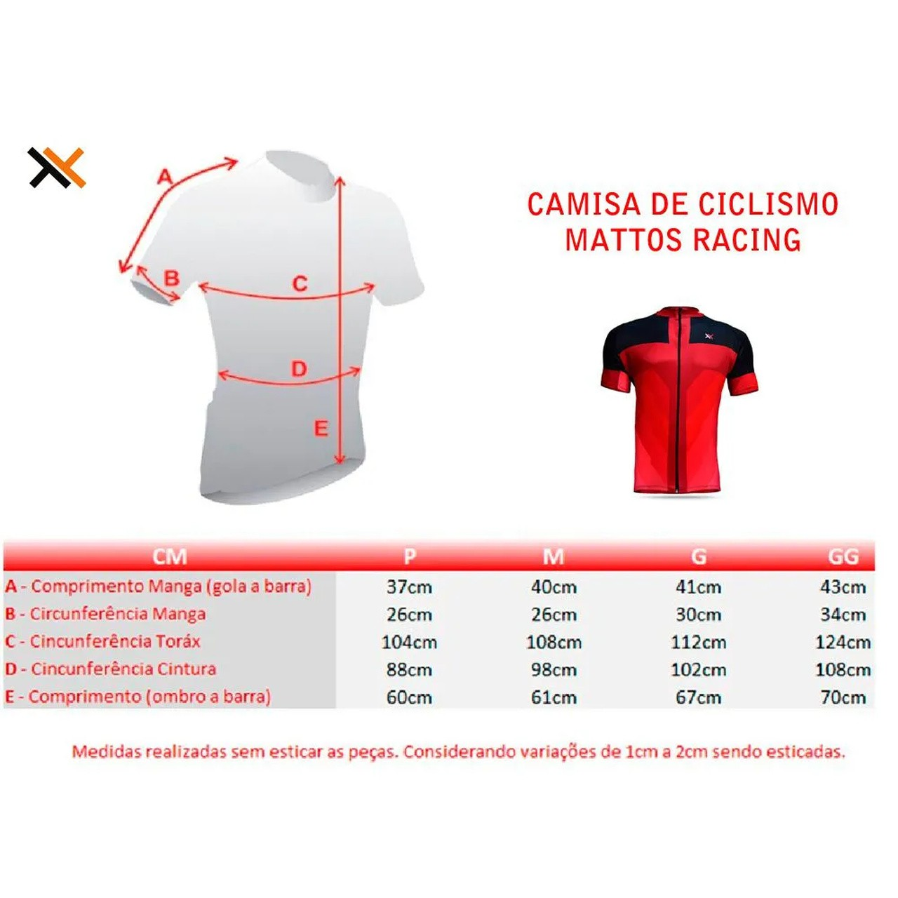 Camisa Mattos Racing Track