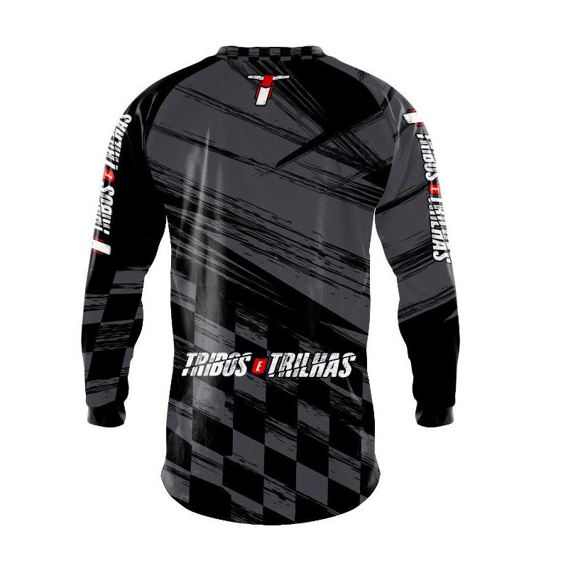 Camisa Motocross Tribos e Trilhas Dark