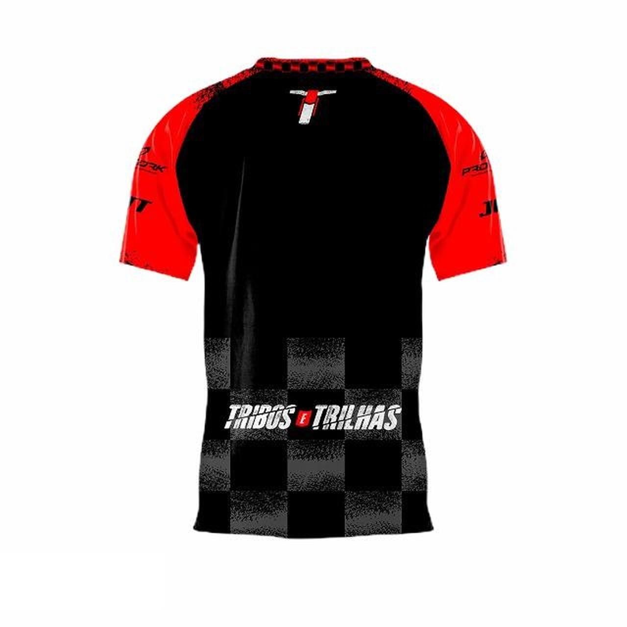 Camiseta Motocross Tribos e Trilhas Manga Curta