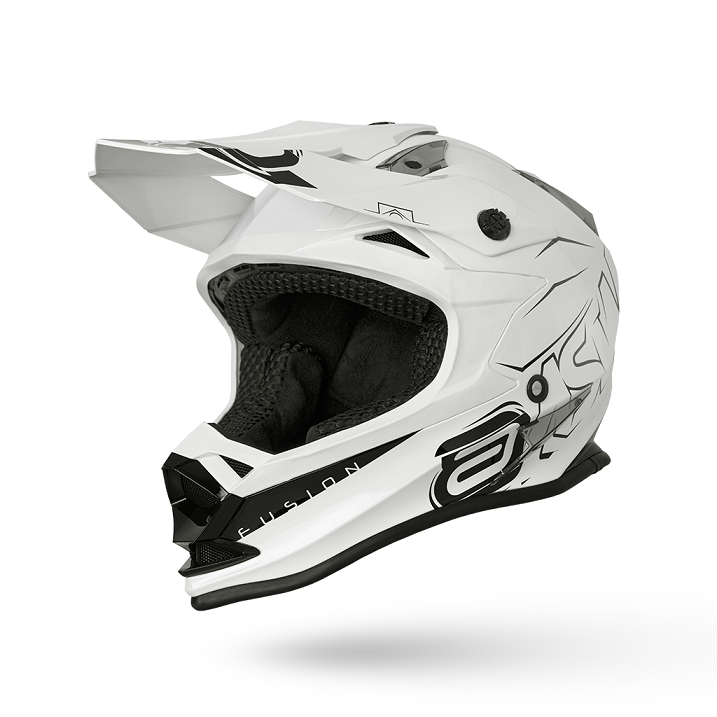 Capacete ASW Fusion Sharp - Branco