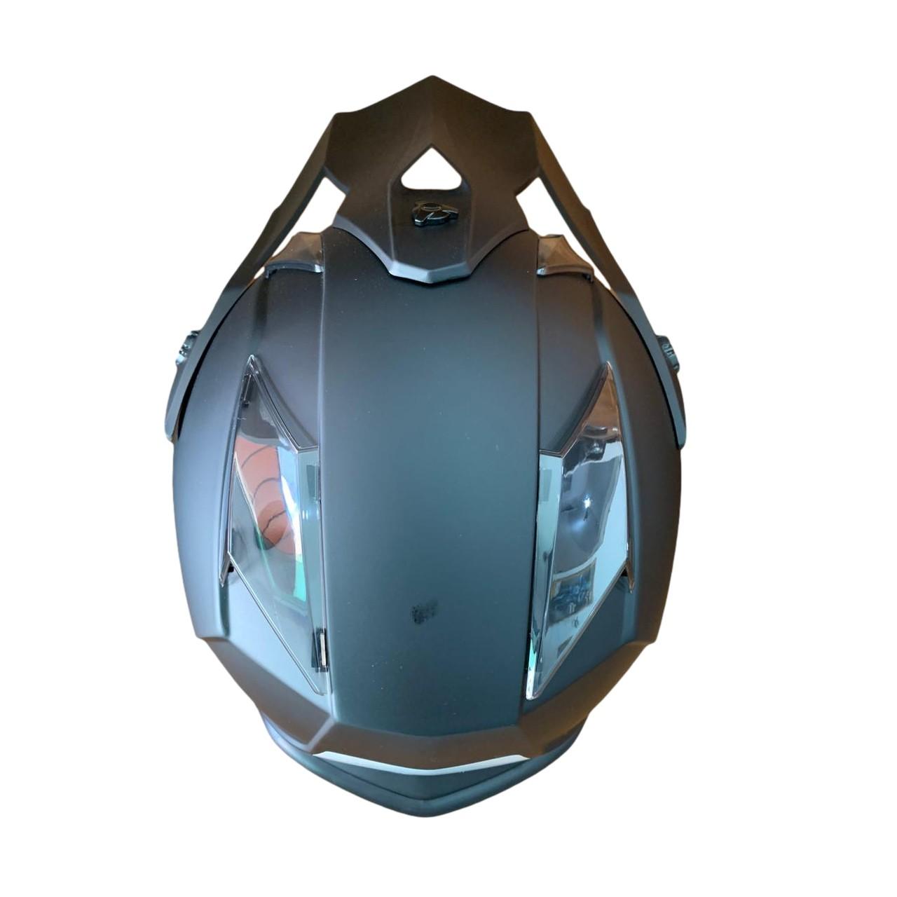 Capacete ASW Fusion Solid - Preto