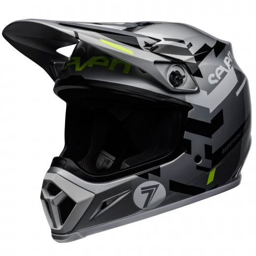 Capacete Bell MX9 Mips Seven Equalizer Cinza
