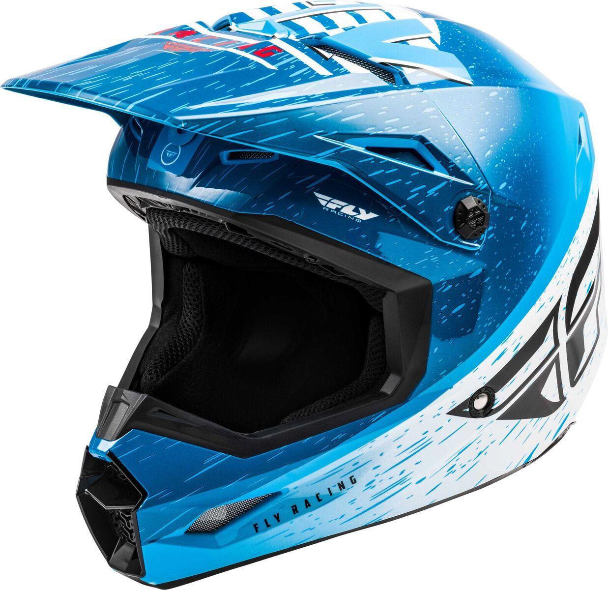 Capacete FLY Kinetic K120 - Azul