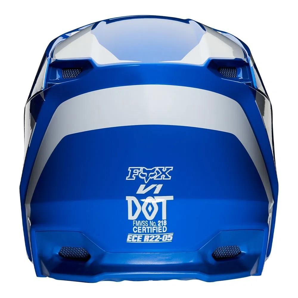 Capacete FOX V1 MVRS PRIX - Azul