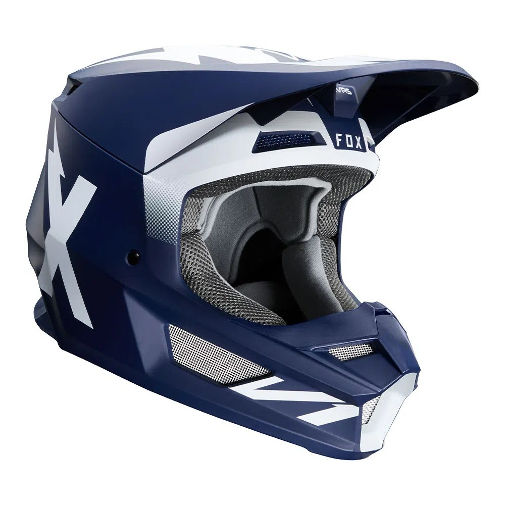 Capacete FOX V1 MVRS WERD - Azul