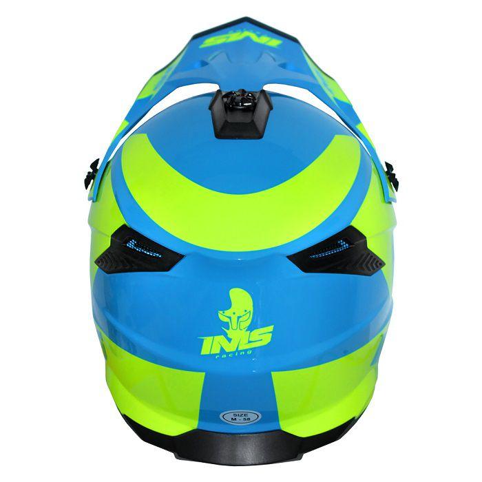 Capacete IMS Sprint Neon - Azul