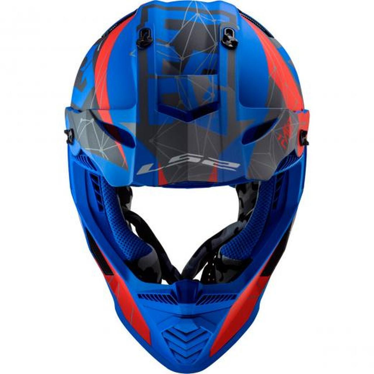 Capacete LS2 Fast MX437 Alpha