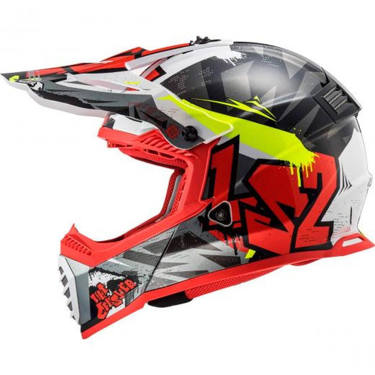 Capacete LS2 Fast MX437 Crusher