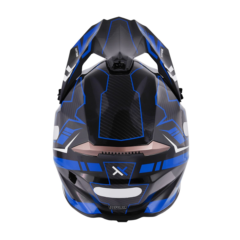 Capacete Mattos Racing Combat - Azul