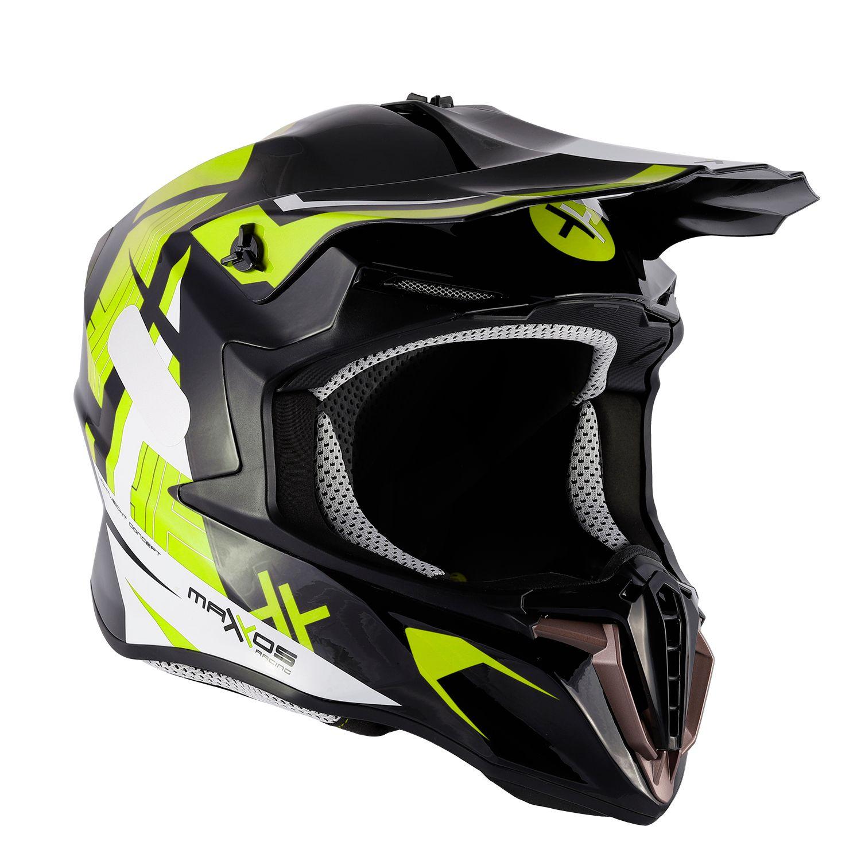 Capacete Mattos Racing Combat MMXIV - Fluor