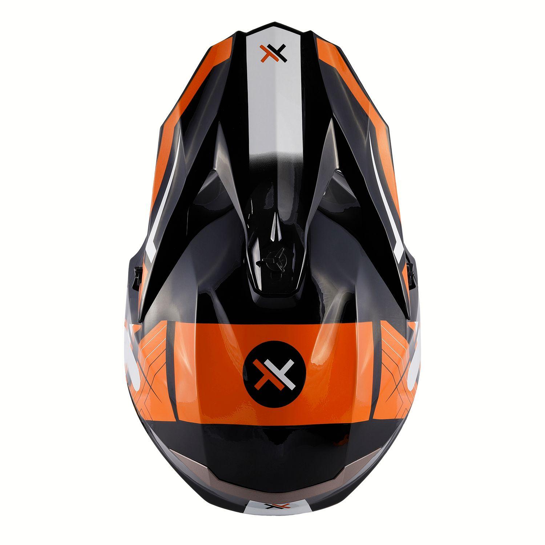 Capacete Mattos Racing Combat MMXIV - Laranja