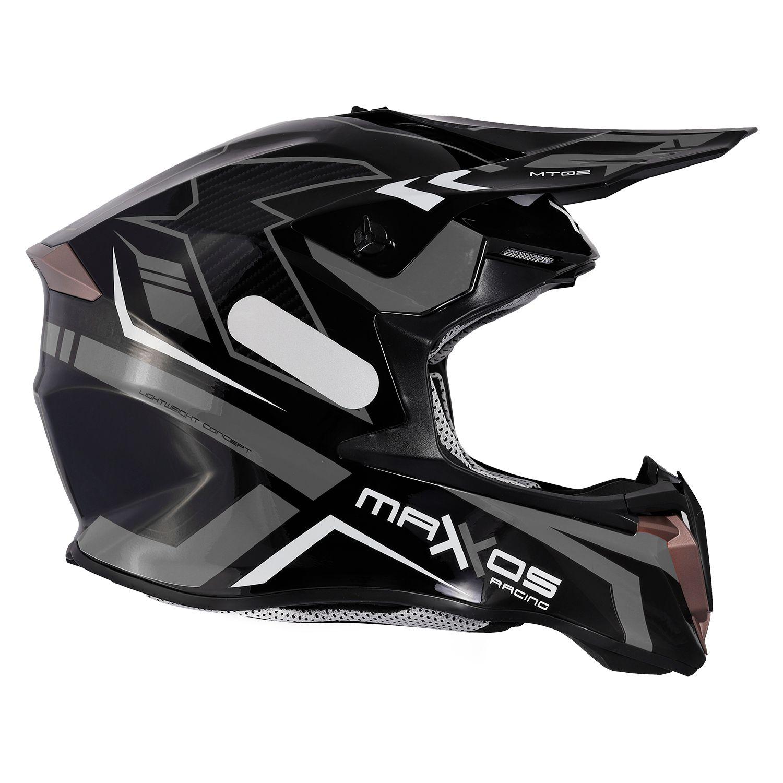 Capacete Mattos Racing Combat MTR02 - Cinza