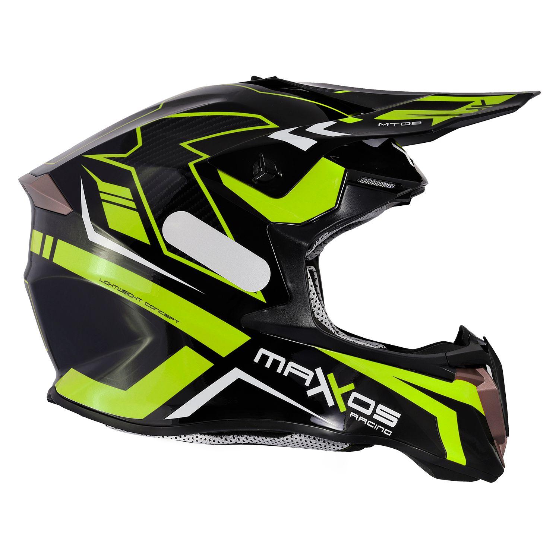 Capacete Mattos Racing Combat MTR02 - Fluor