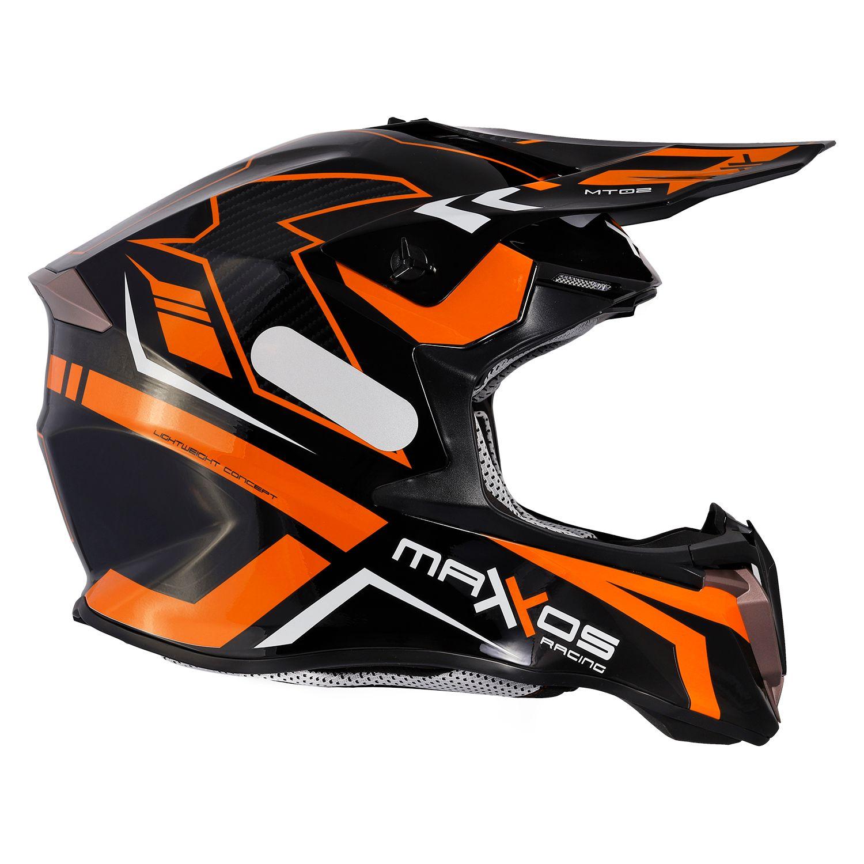 Capacete Mattos Racing Combat MTR02 - Laranja