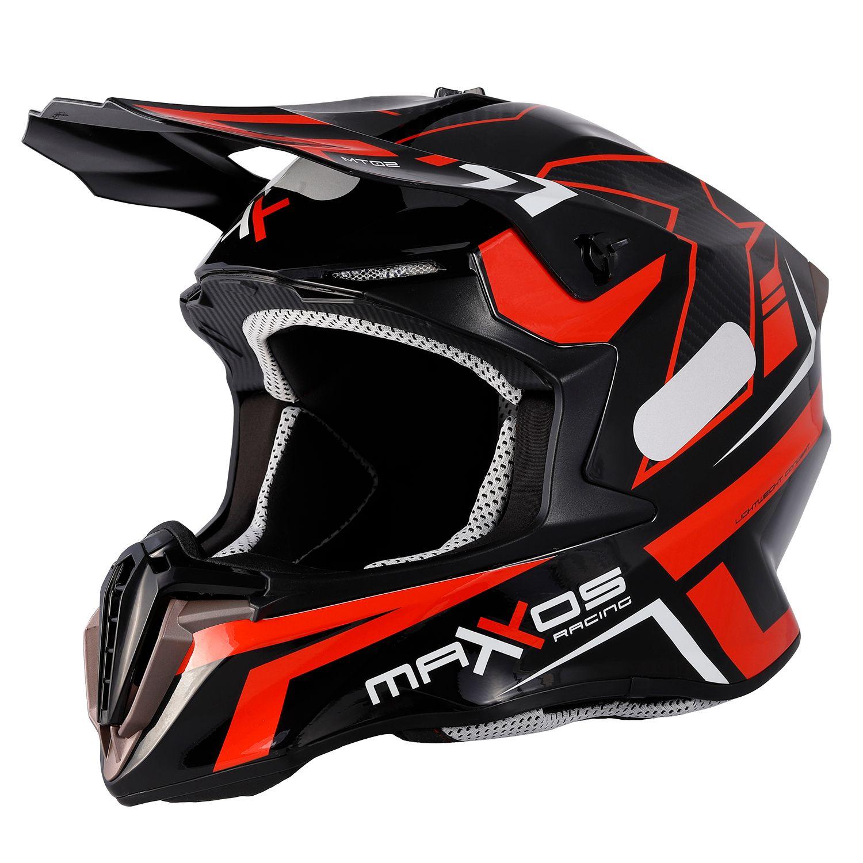Capacete Mattos Racing Combat MTR02 - Vermelho
