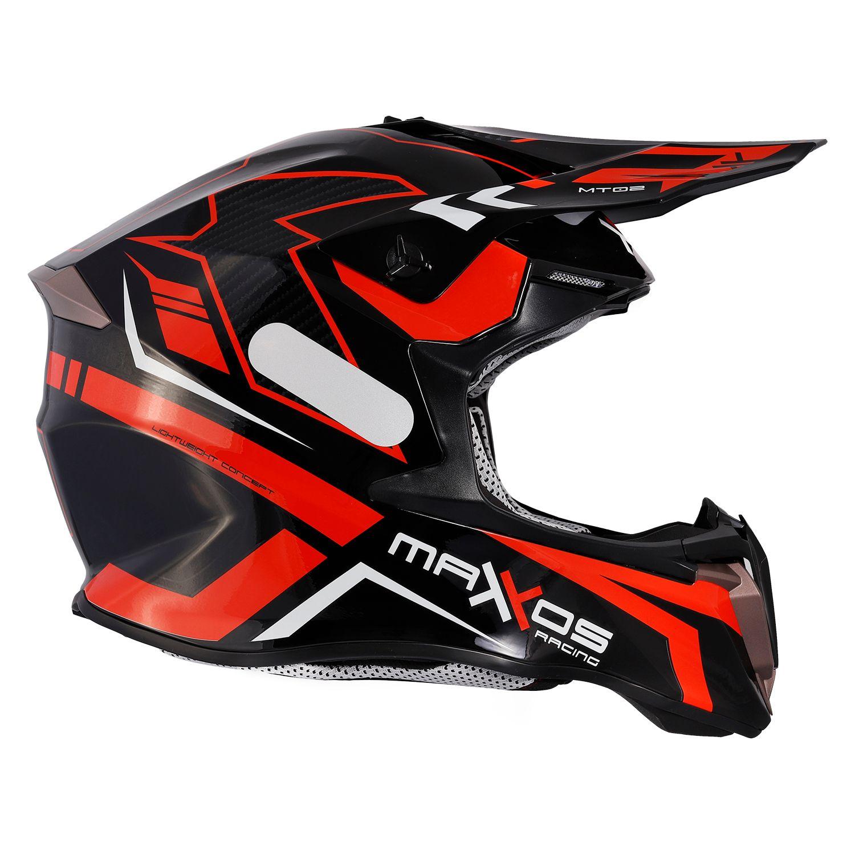 Capacete Mattos Racing Combat - Vermelho