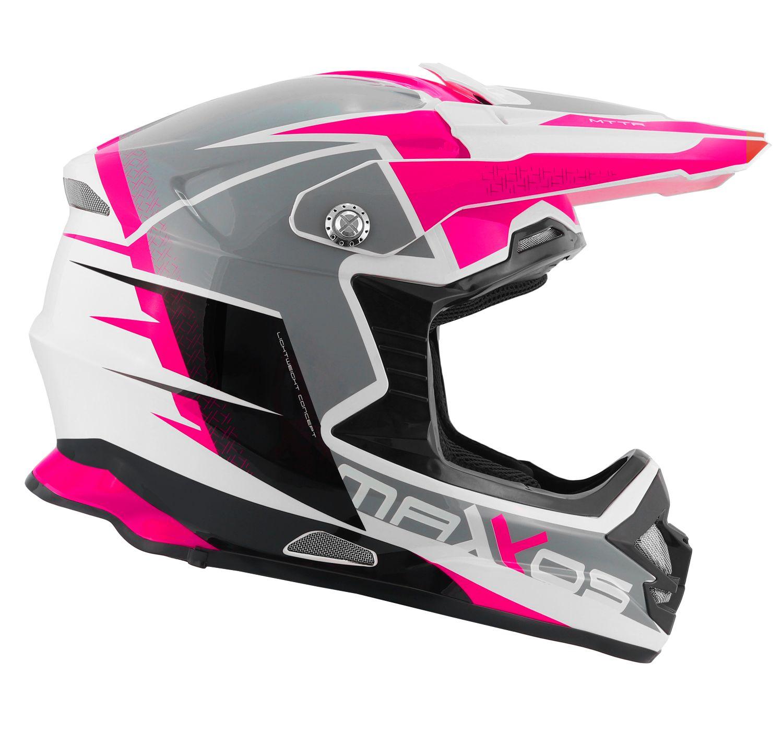 Capacete Mattos Racing MX Pro - Pink