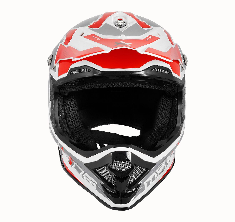 Capacete Mattos Racing MX Pro - Vermelho