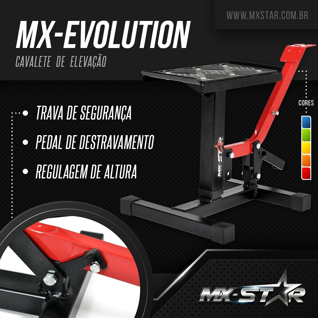 Cavalete MX Evolution