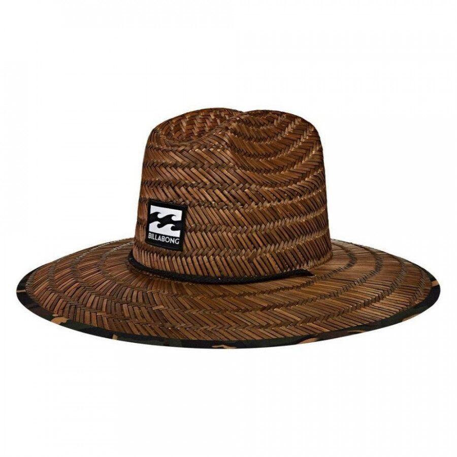 Chapéu de Palha Billabong Tides Print