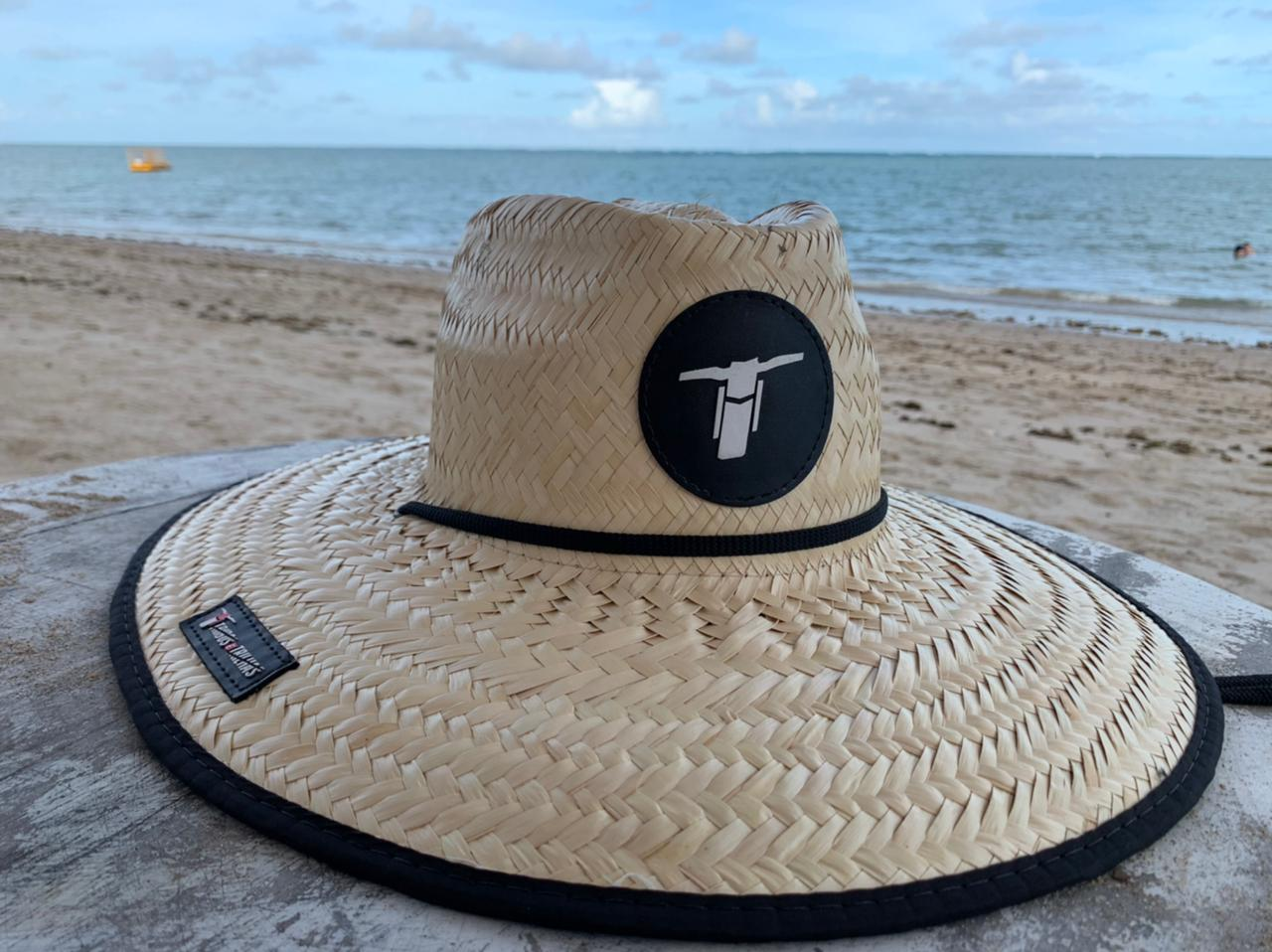 Chapéu de Palha Tribos e Trilhas Camo Print