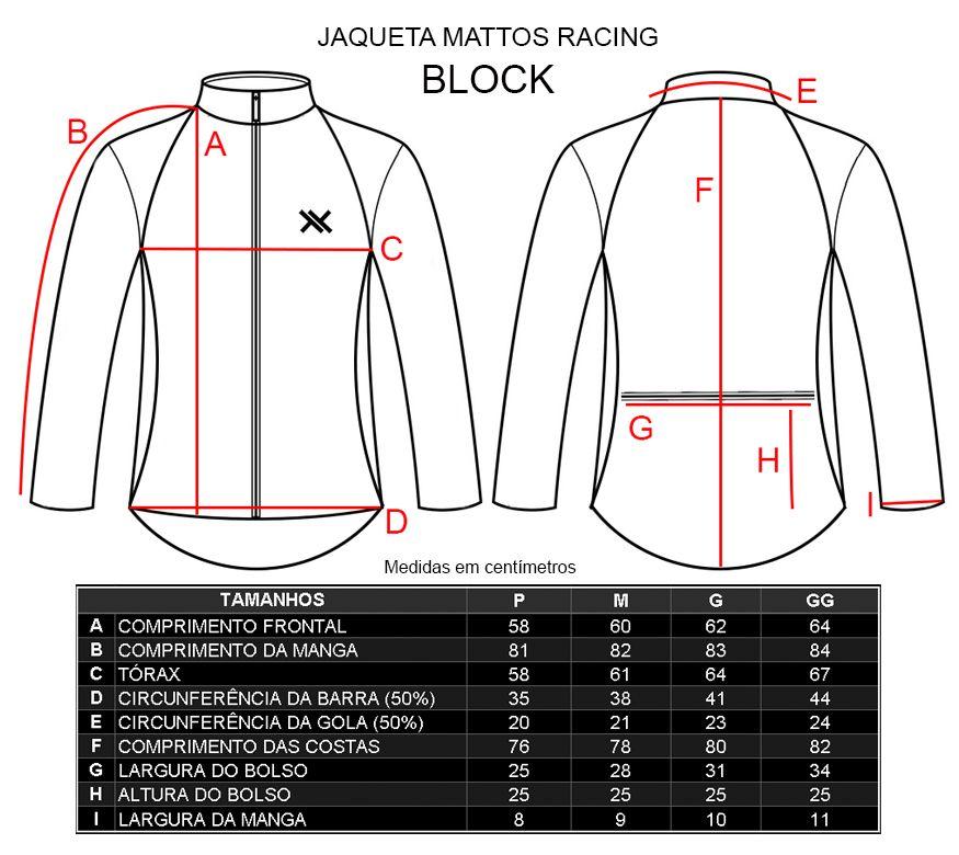 Colete Corta Vento Mattos Racing Block