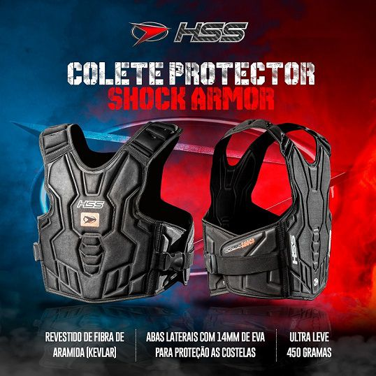 Colete HSS Shock Armor Cross Action