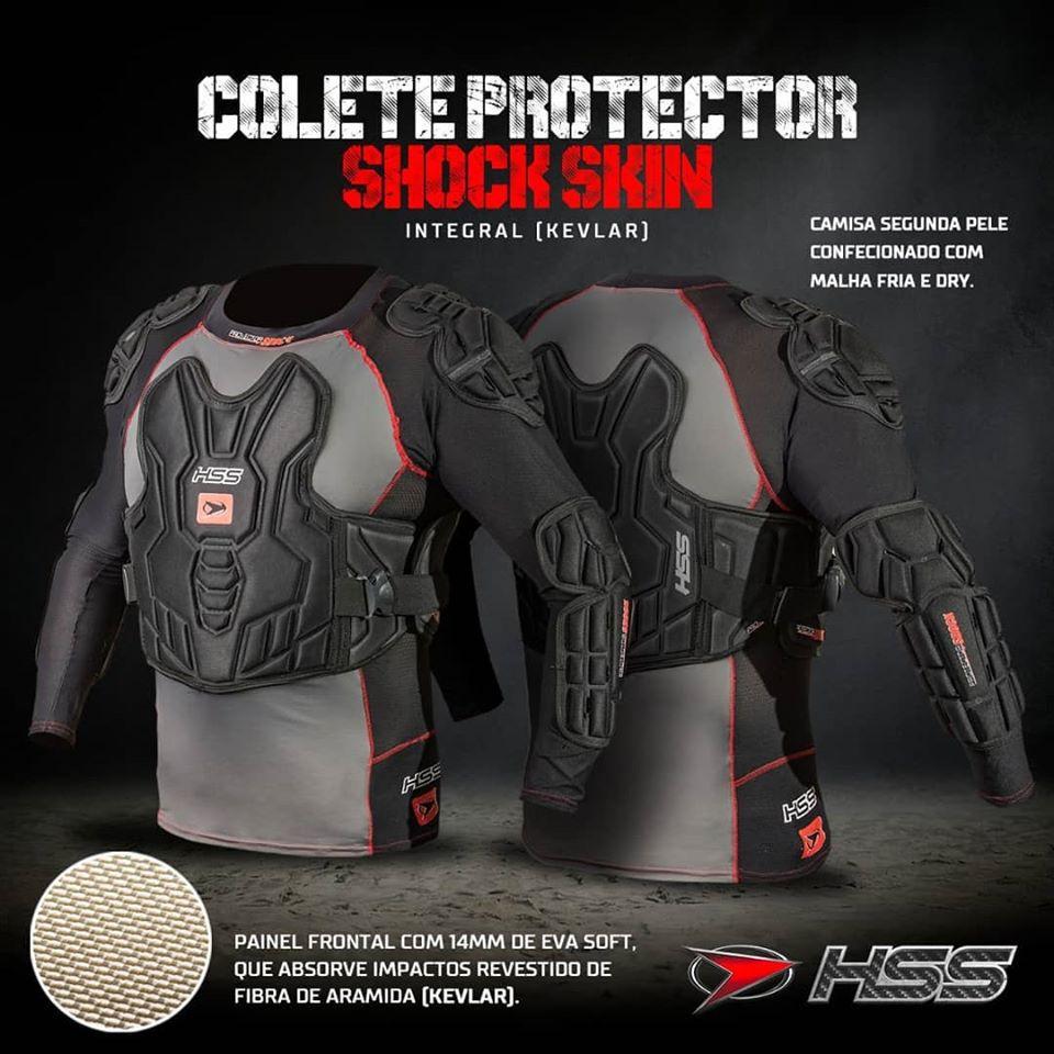 Colete Integral HSS Protector Shock Skin