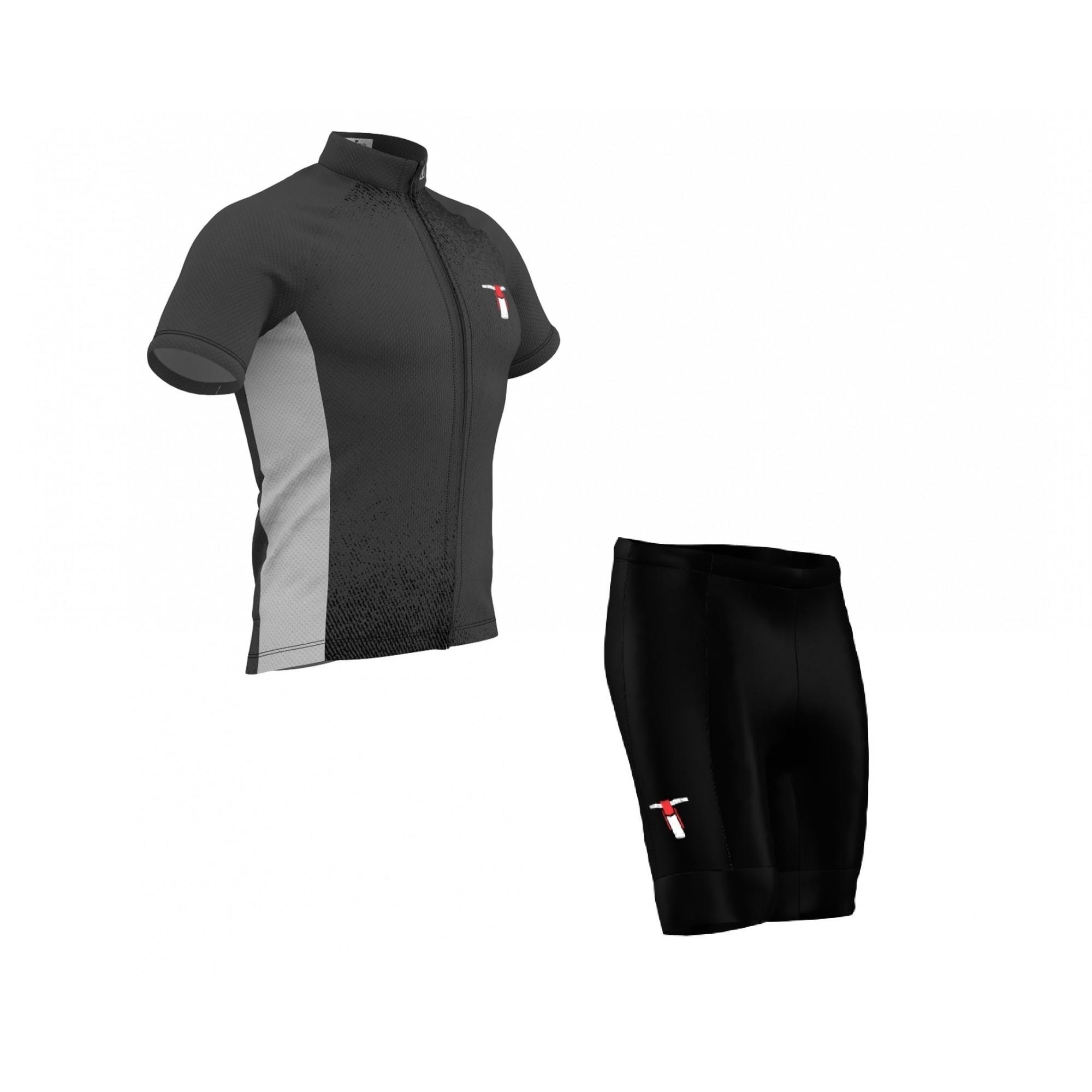 Conjunto Bermuda + Camisa Tribos e Trilhas Grey