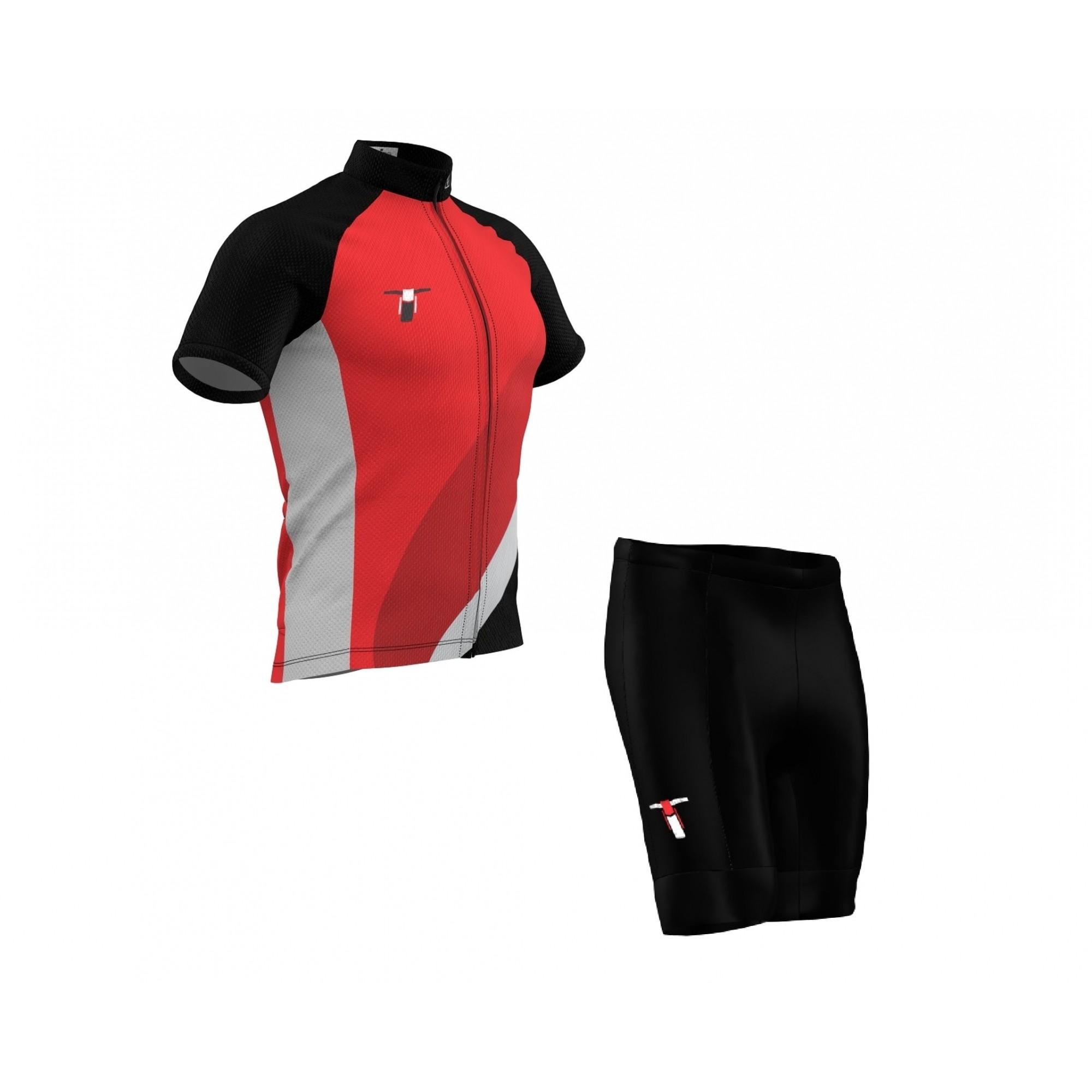 Conjunto Bermuda + Camisa Tribos e Trilhas Red