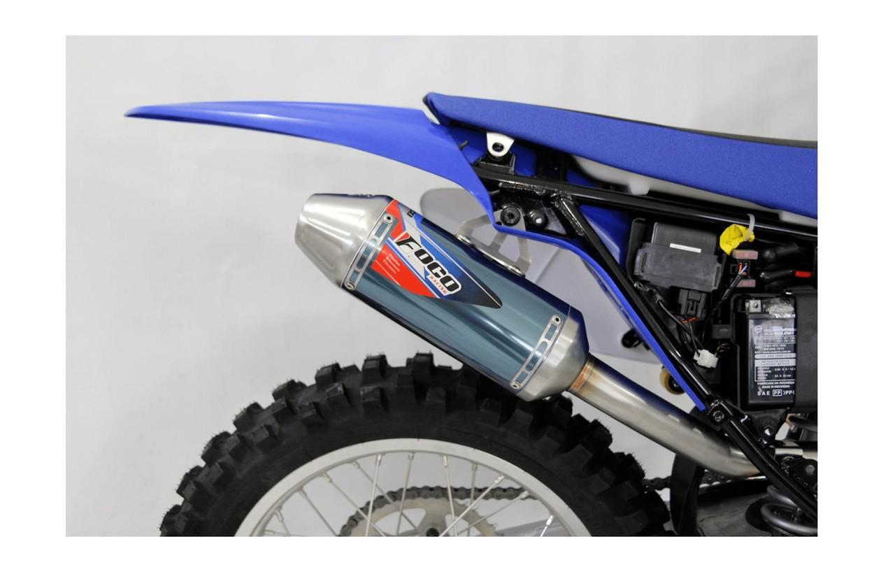 Escapamento Foco Racing TTR230 Strong - Curva + Ponteira