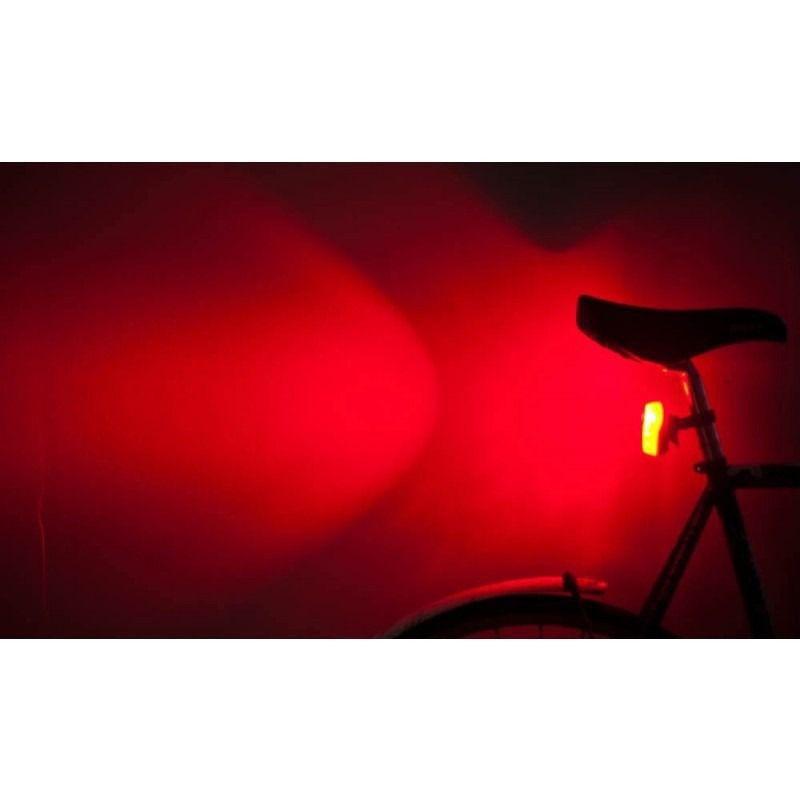 Farol de Bike Traseiro com Duplo LED
