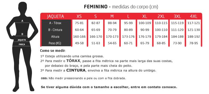 Jaqueta Feminina X11 Iron 2 100% Impermeável