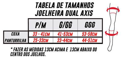 Joelheira Leatt Dual Axis