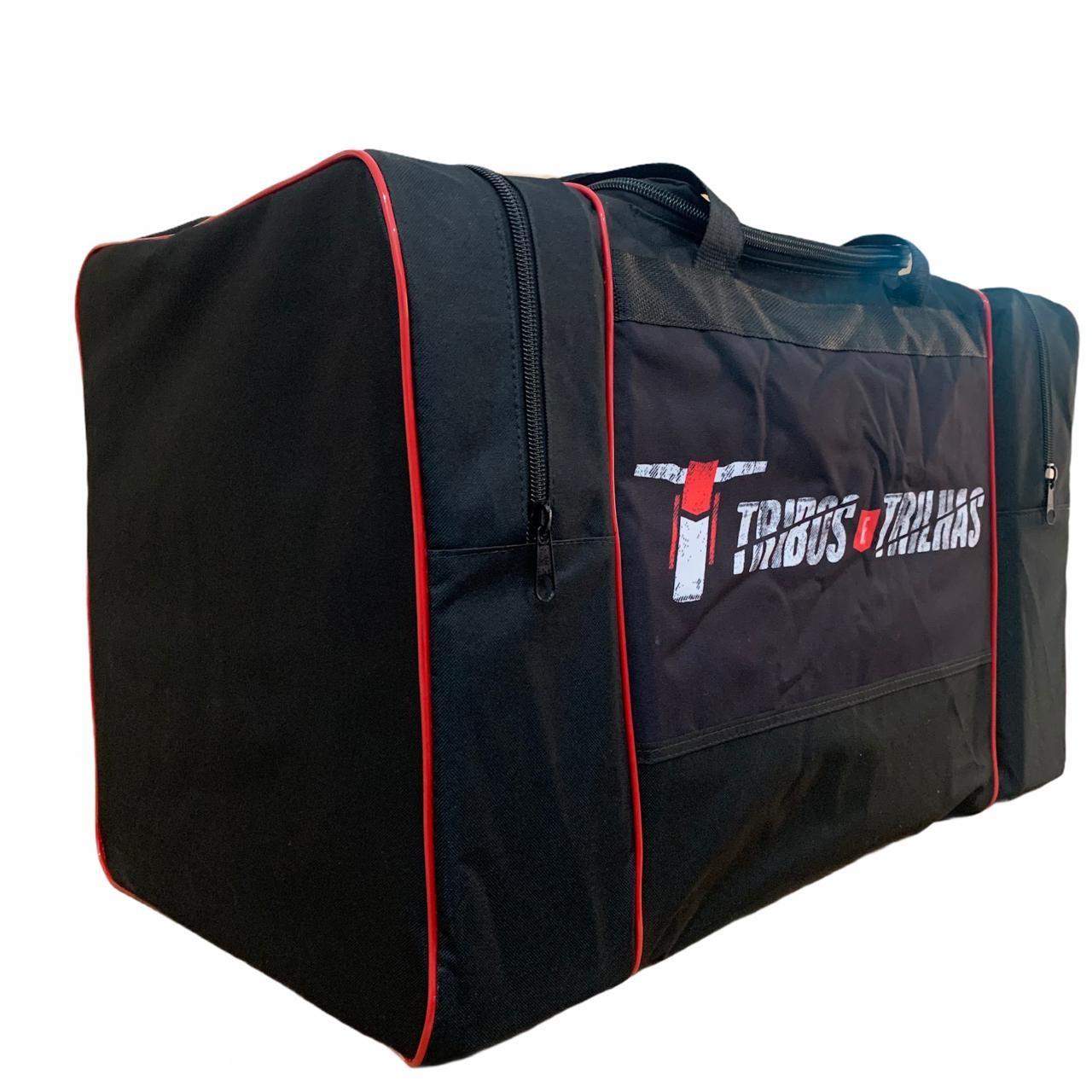 Kit Bolsa de Equipamento + Porta Bota Tribos e Trilhas Whip