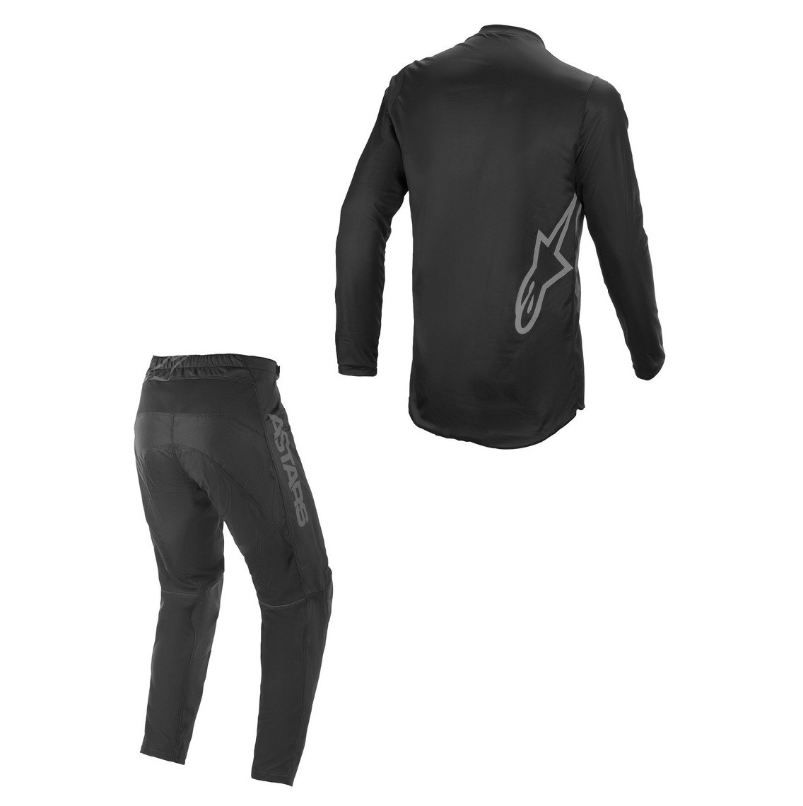 Kit Calça + Camisa Alpinestars Fluid Graphite