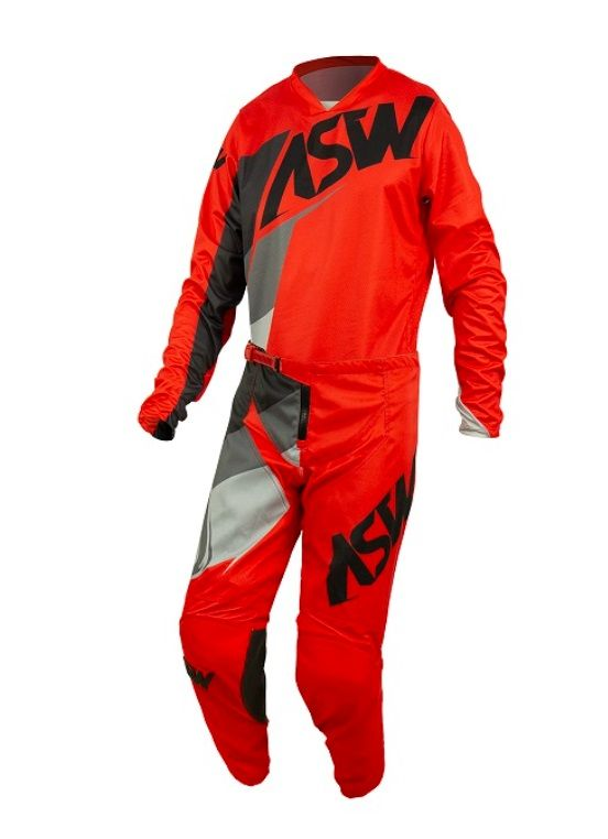Kit Calça + Camisa ASW Image Force Vermelho