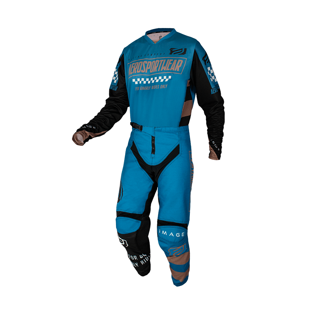 Kit Calça + Camisa ASW Image Knight Azul