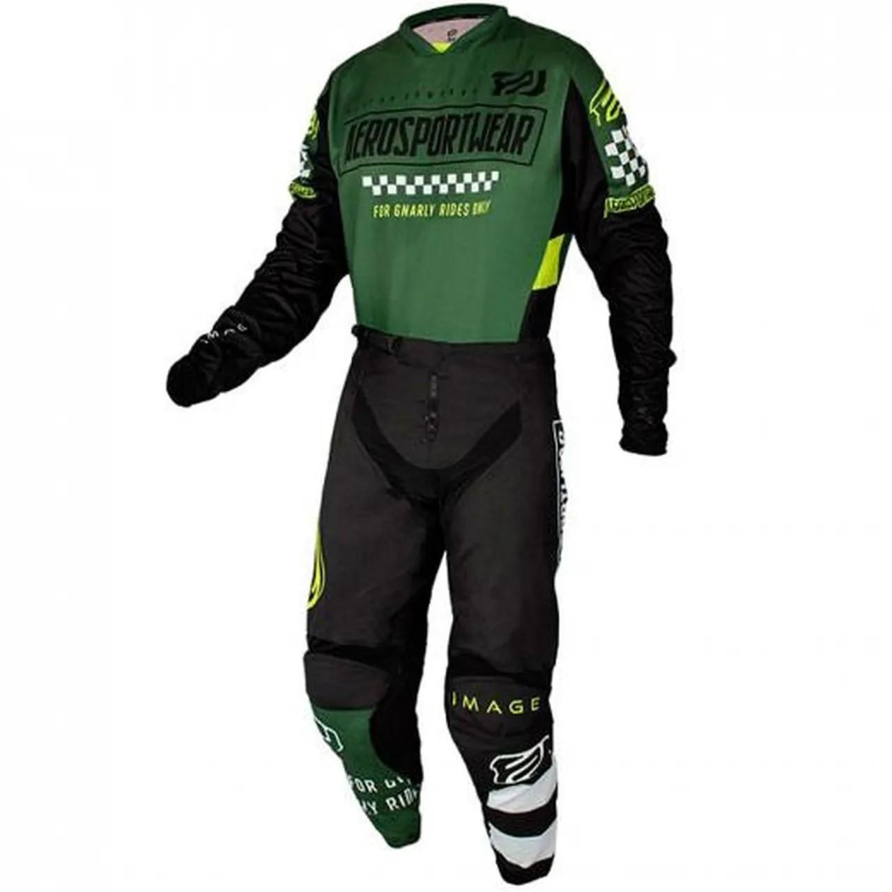 Kit Calça + Camisa ASW Image Knight Verde Militar
