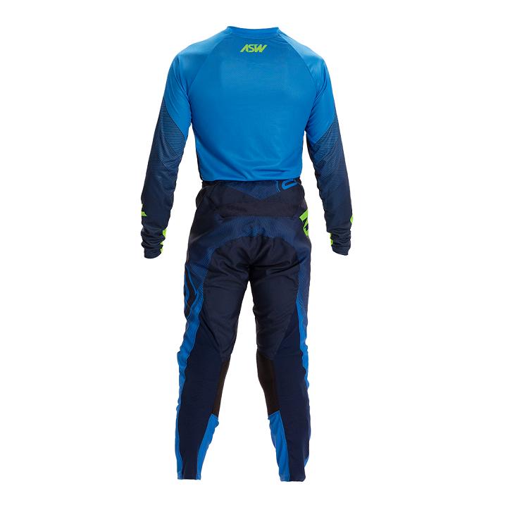 Kit Calça + Camisa ASW Image Poly Azul