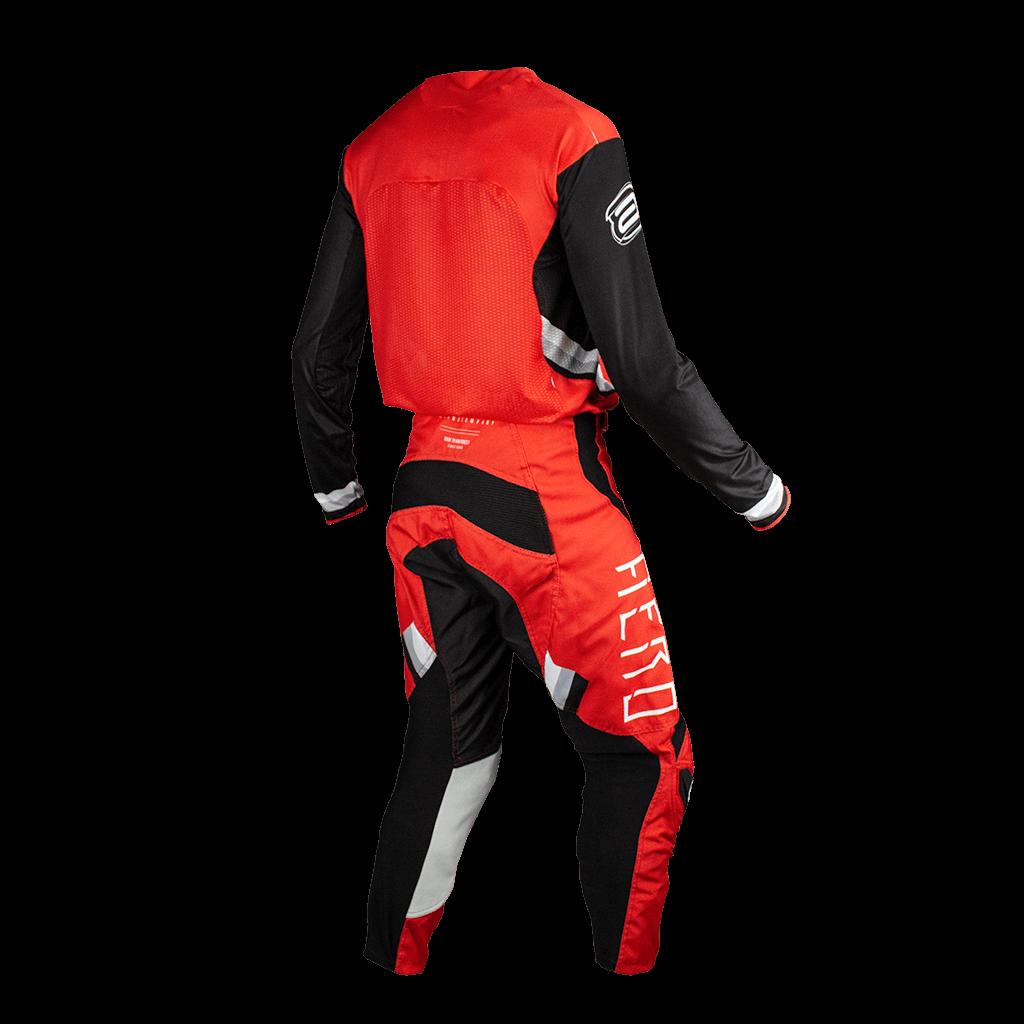 Kit Calça + Camisa ASW Podium Race Empire Vermelho