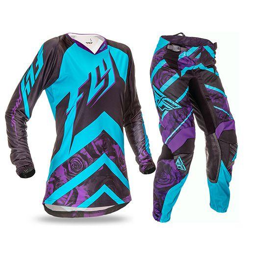 KIt Calça + Camisa FLY Kinetic Ladies - Roxo