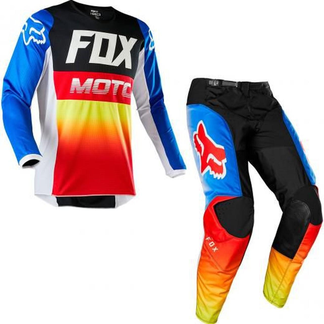 Kit Calça + Camisa FOX 180 FYCE Azul