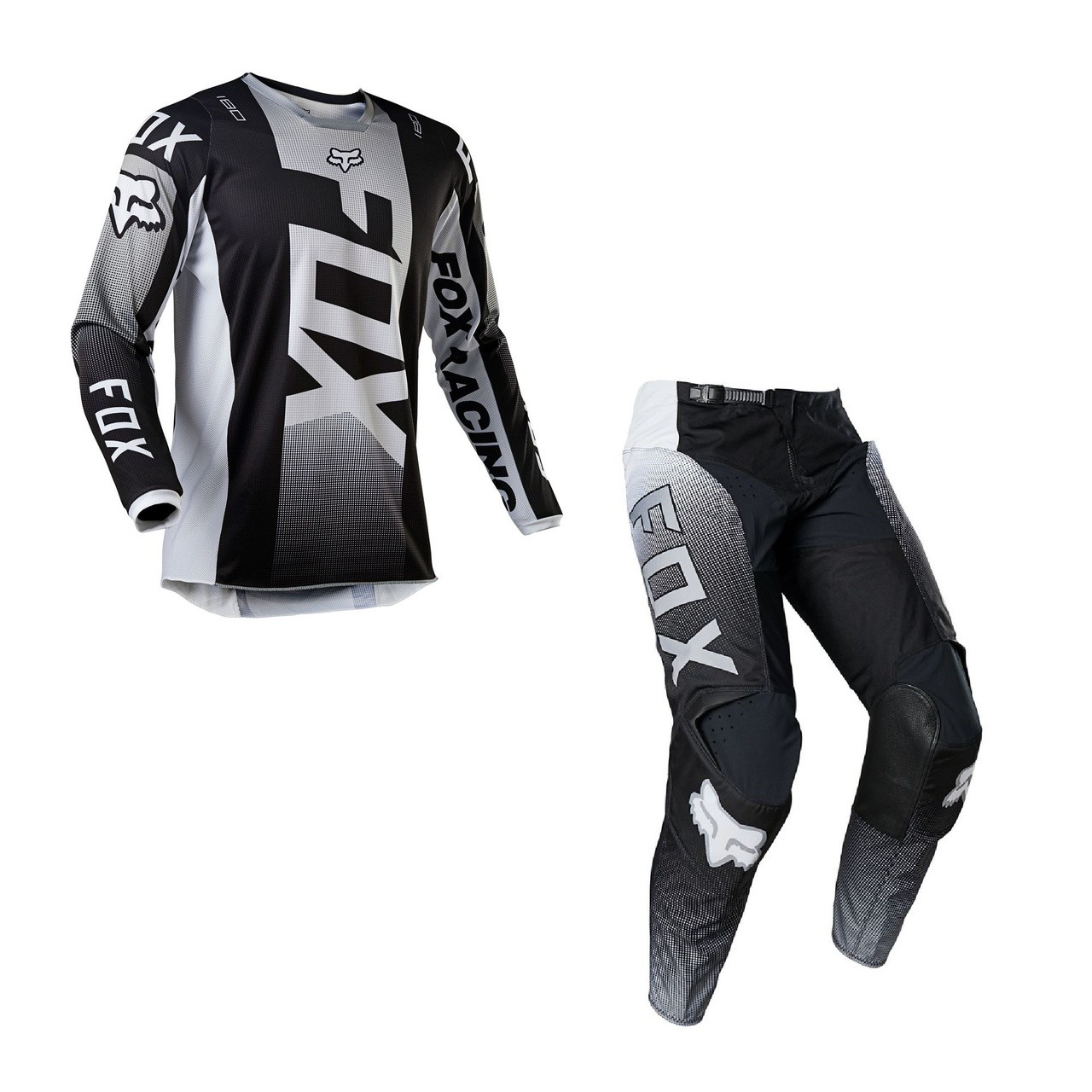Kit Calça + Camisa FOX 180 Oktiv Black
