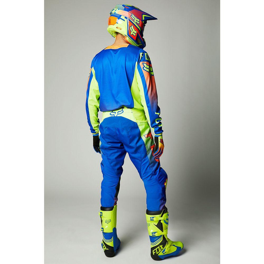 Kit Calça + Camisa FOX 180 Oktiv Blue