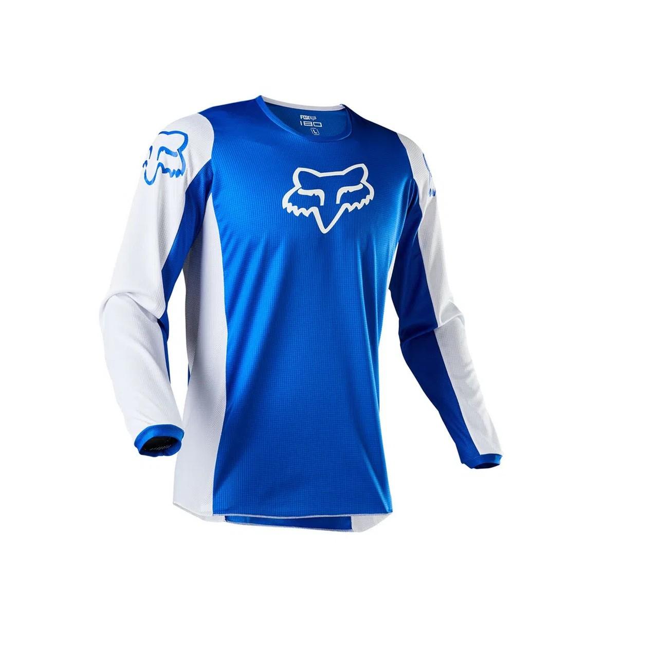Kit Calça + Camisa FOX 180 Prix Azul